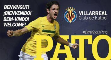 Villarreal refuerza su delantera con Alexandre Pato