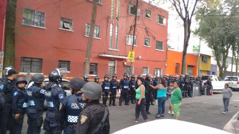 Recuperaron predio tomado por la Asamblea de Barrios y arrestaron a su líder