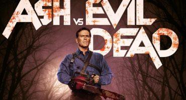 Ash nos saluda en el nuevo póster de Ash vs Evil Dead