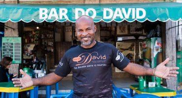 Vagando con Sopitas presenta: el Bar do David en la favela Chapéu Mangueira