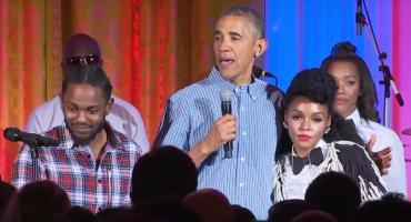 """Obama canta """"happy birthday"""" a su hija junto con Kendrick Lamar y Janelle Monáe"""