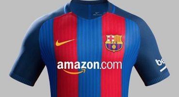 Amazon podría ser el nuevo patrocinador del Barcelona