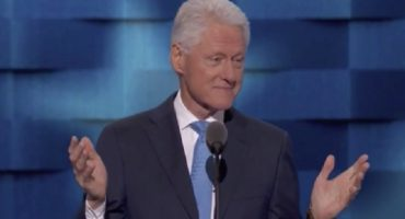 Y para no quedarse atrás: el intenso discurso de Bill Clinton en apoyo a Hillary