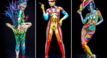 Conozcan el trabajo de body paint de la convención Bodies and Beats