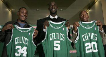 Ya son nueve años del 'Big Three' de los Boston Celtics