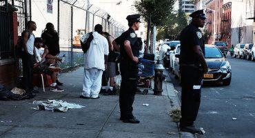 Más de 30 personas se desvanecieron por las calles de Nueva York por una sobredosis de marihuana sintética
