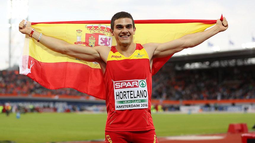 Así reaccionó Bruno Hortelano cuando se enteró que era campeón de los 200 metros