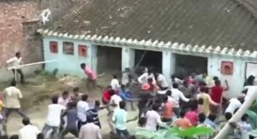 Sucedió de nuevo: Leopardo causa caos en pueblo de la India