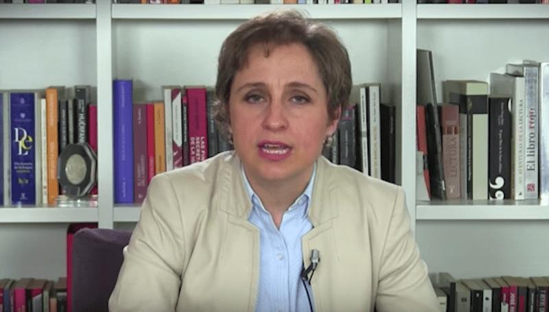 Carmen Aristegui denuncia acoso judicial por investigación de la Casa Blanca