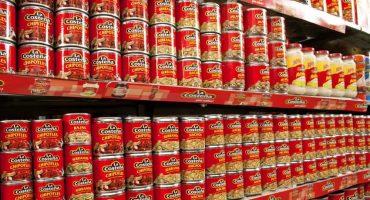 Más de 12 mil latas de chiles La Costeña fueron aseguradas para descartar 'sospechosismos'
