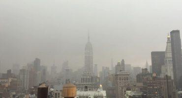 Un rayo cae sobre el Empire State... y la foto anda rompiendo el internet
