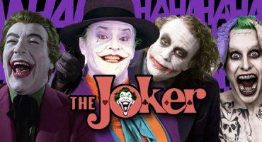 Este video nos muestra la evolución de The Joker en el cine
