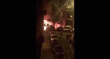 Reportan dos explosiones en barrio de Bruselas