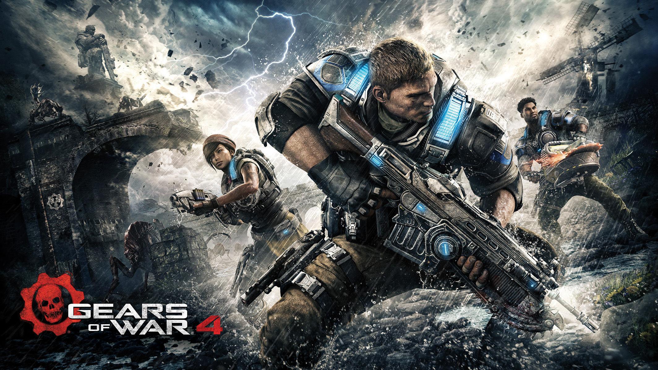 Mira a Marcus Fenix en acción en el nuevo adelanto de Gears of War 4