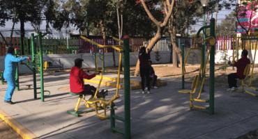 Indeporte denuncia que  Coyoacán no ha instalado los gimnasios urbanos asignados