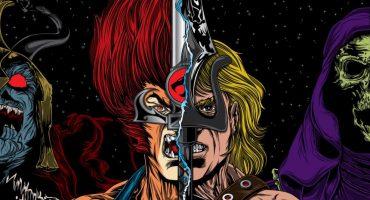 DC lanzará el crossover entre He-Man y los Thundercats