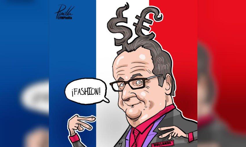 WTF!!?? peluquero del presidente de Francia gana 10 mil euros al mes
