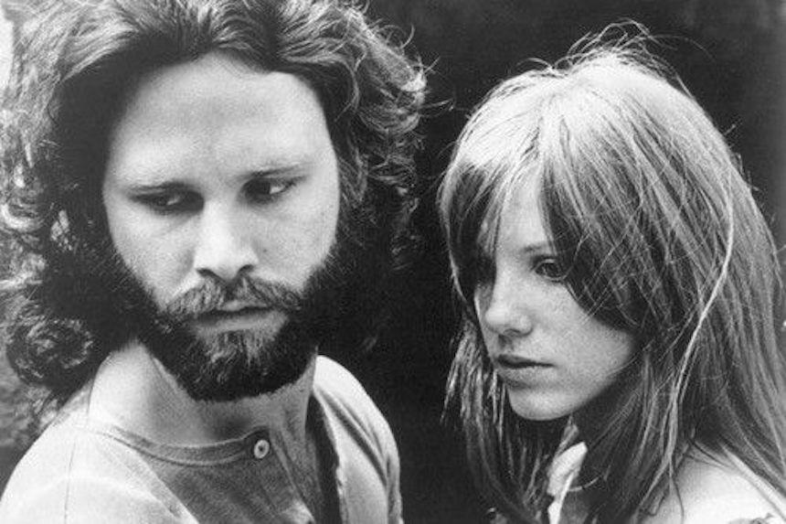 La trágica historia de amor de Jim Morrison y Pamela Courson