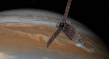 La sonda Juno envió la primera foto desde la órbita de Júpiter