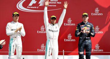 Lewis Hamilton se lleva el Gran Premio de Gran Bretaña