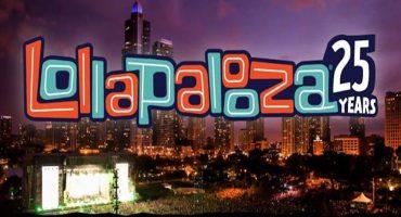 Lollapalooza 2016: todos los horarios de las presentaciones del 25 aniversario