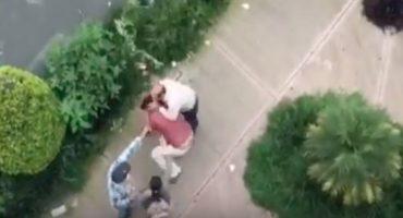 #LordPeatones: conductor agrede a pareja que le reclamó por detenerse en paso peatonal