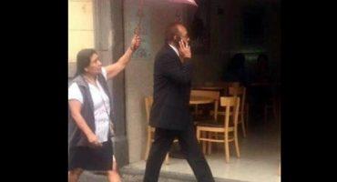 Y en la imagen del día... No lo merece ni el Sol: así anda por las calles ex legislador del PRI