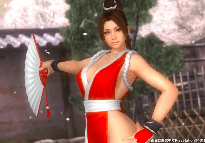 Mai Shiranui se une a las peleadoras de Dead or Alive 5