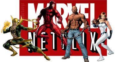 Netflix revela el orden de lanzamiento de las series de Marvel