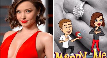 Lucky bastard! Miranda Kerr se compromete con el CEO de Snapchat