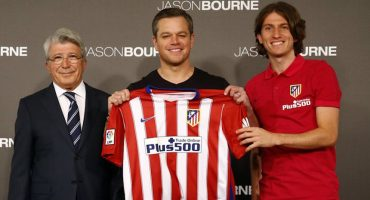 Atlético de Madrid ficha a Matt Damon