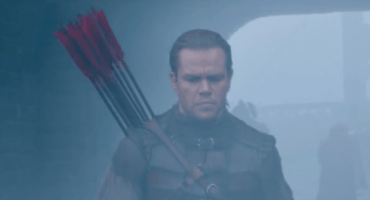 Matt Damon pelea contra monstruos en el trailer de The Great Wall