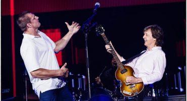 Rob Gronkowski se sube al escenario con ¡Paul McCartney!
