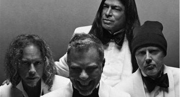 Metallica como nunca los habíamos visto: Modelando trajes