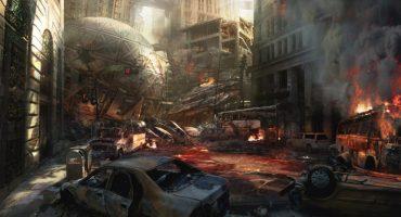 Vean la destrucción de Metrópolis desde los ojos de Batman y Superman