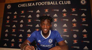 Michy Batshuayi es el nuevo delantero del Chelsea