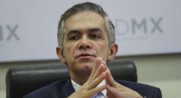 Si no se arma lo del Frente Ciudadano, Mancera se apunta para candidato del PRD
