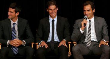 La enorme racha de Federer, Nadal y Djokovic