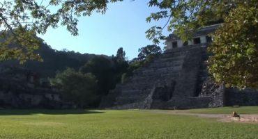 Descubren sistema hidráulico en Palenque que 'modifica' la historia maya