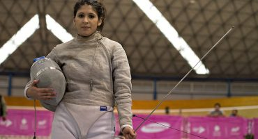 La esgrimista mexicana Paola Pliego da positivo en examen antidoping