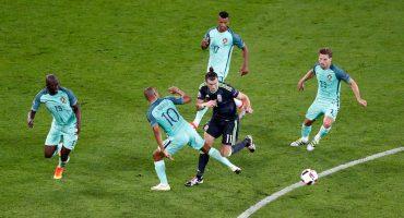 Héroe, villano y aficionada del Portugal contra Gales en la Euro 2016