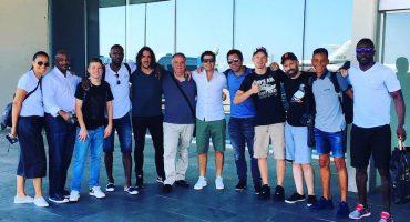 Exjugadores del Barcelona ya se encuentran de regreso en España