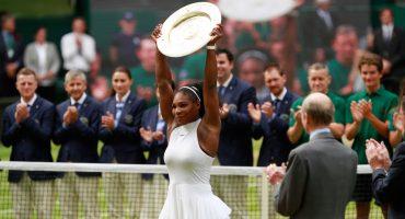 Serena Williams triunfa en Wimbledon y hace historia