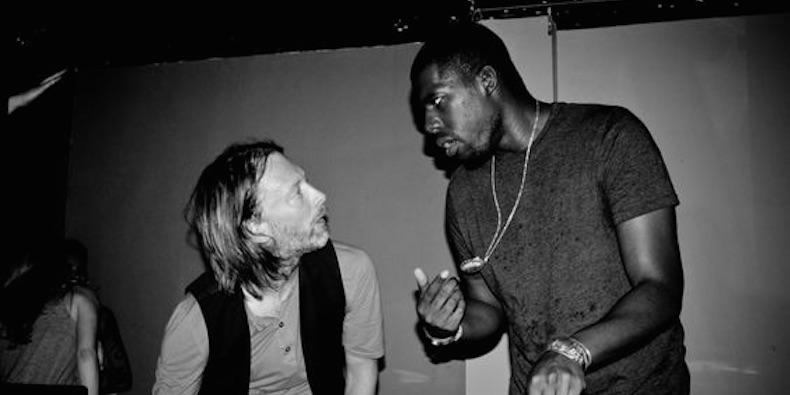 Flying Lotus asegura que su GIF con Thom Yorke lo inspiró a ser director