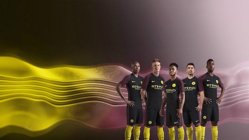 2e8bdedac5ad7 Así es el uniforme de vistante del Manchester City