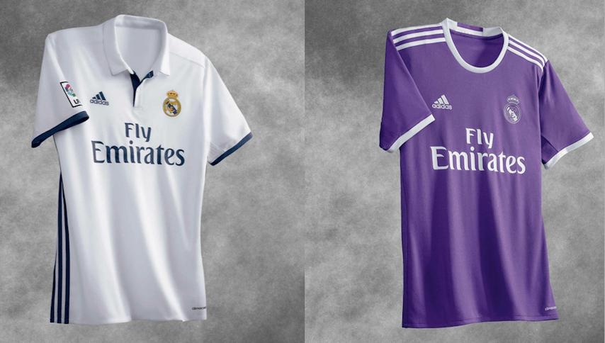 Real Madrid presentó sus uniformes para la campaña 2016-17