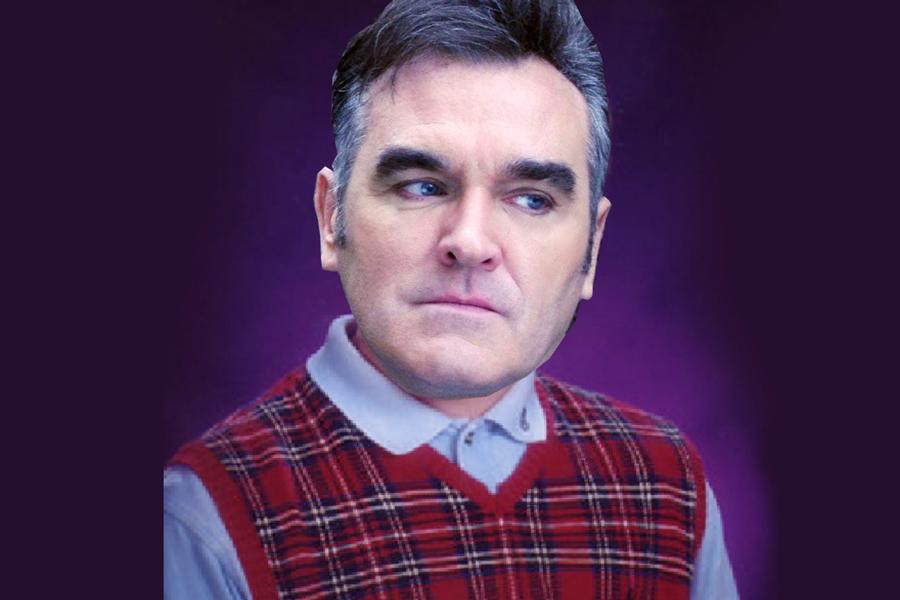 Morrissey ardido porque nunca lo han nominado al Salón de la Fama