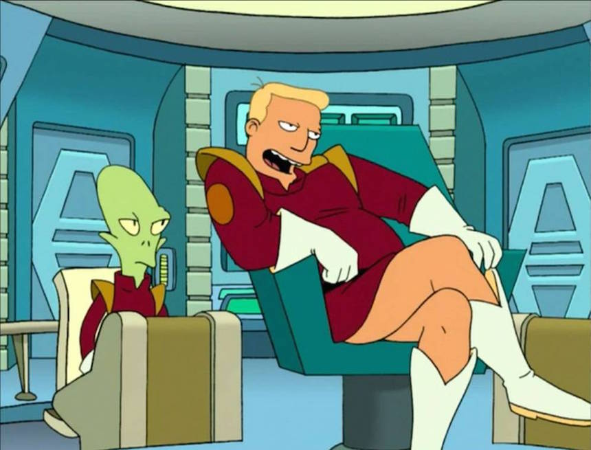 LOL! Escuchen frases de Donald Trump con la voz de Zapp Brannigan de  'Futurama'