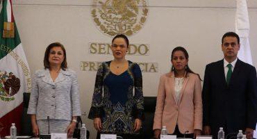 Arely Gómez compareció por Nochixtlán... a puerta cerrada