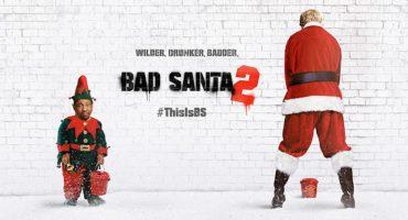 Mira aquí el primer trailer de 'Bad Santa 2' (NSFW)